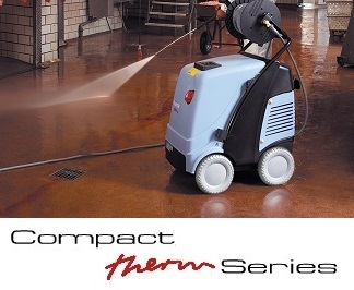 High pressure cleaners with 140°C max temperature, Kranzle Therm Series